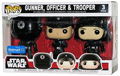 3er Figurenset POP! Star Wars Gunner Officer & Trooper Exclusive.