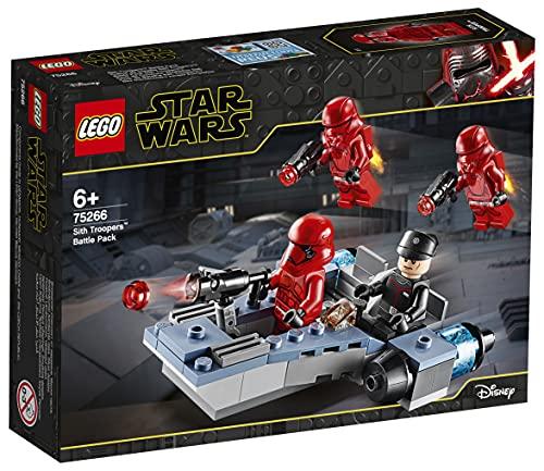 LEGO 75266 Star Wars Sith Troopers Battle Pack Spielset mit Battle Speeder, Der Aufstieg Skywalkers Kollektion