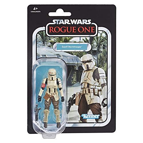 Hasbro E4055ES1 Star Wars E4055ES0 Star Wars Rogue One Scarif Stormtrooper, Actionfigur mit vielen Details und Artikulationspunkten aus der Vintage Collection, Mehrfarbig