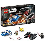 LEGO 75196 Star Wars A-Wing™ vs. TIE Silencer™ Microfighters