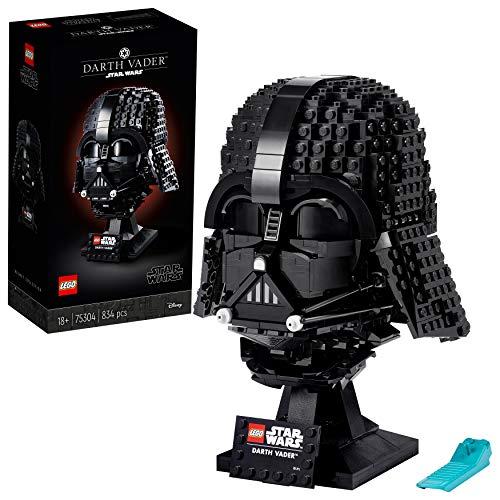 LEGO75304StarWarsDarth-VaderHelmBausetfürErwachsene,Deko,Geschenkidee,ModellzumBauenundAusstellen