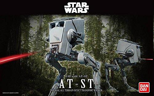 Revell Bandai 1202 Disney Star Wars at-ST Läufer Stormtrooper Zubehör, 1:48/18,2cm, 1/48