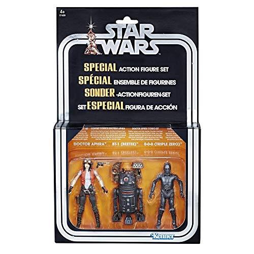 Star Wars Premium Vintage Collection Actionfiguren 3er-Pack Doctor Aphra Comic Set Exclusive 10 cm