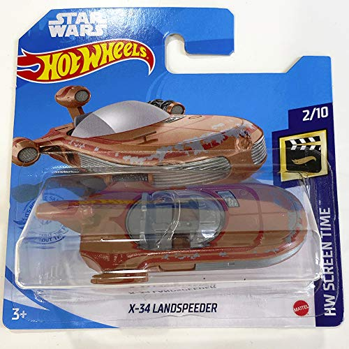 Hot Wheels X-34 Landspeeder Star Wars HW Screen Time 2/10 2021 (12/250) Short Card