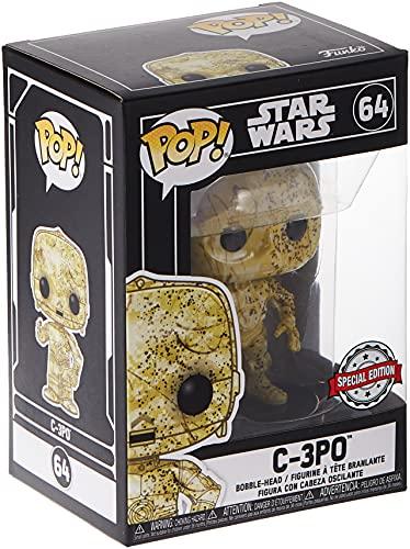 Funko Pop! 45528 Star Wars: Futura Skin C-3PO – Exclusive Edition #64