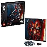 LEGO 31200 Art Star Wars: Die Sith – Kunstbild Set, Poster für Sammler, Wanddekoration, DIY Puzzle für Erwachsene
