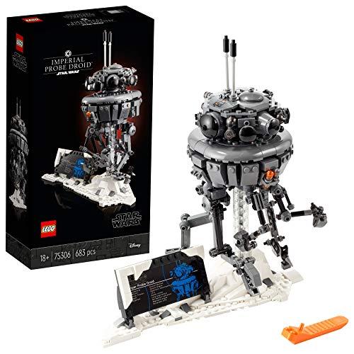 LEGO 75306 Star Wars Imperialer Suchdroide Bauset für Erwachsene, Geschenkidee für Fans von Das Imperium schlägt zurück