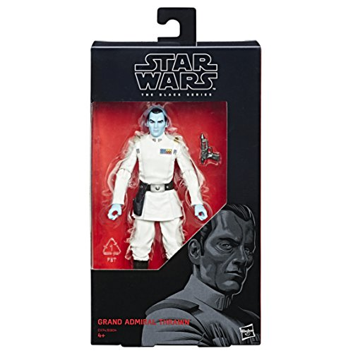 Hasbro Star Wars C1774ES0 Rebels The Black Series 6'' Figur: General Thrawn, Actionfigur