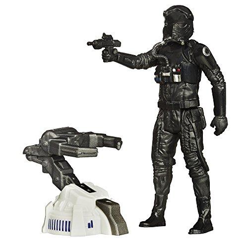 Hasbro Star Wars B3450ES0 - E7 3.75' Basisfigur: First Order Tie Fighter Pilot, Actionfigur