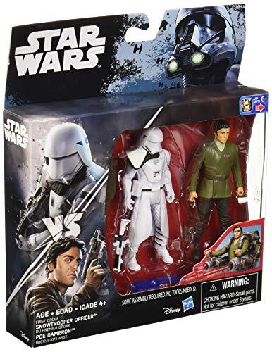 Star Wars Das Erwachen der Macht Aktionsfiguren Snowtrooper Officer und Poe Dameron