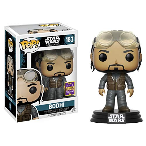 Funko - Star Wars Rogue One-Bodhi Rook-Sdcc Summer Convention Figur, Mehrfarbig, 14718