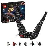 Lego 75256 Star Wars Kylo Rens Shuttle, Raumschiff-Bauset mit 2 Spring Shootern, Der Aufstieg Skywalkers Kollektion