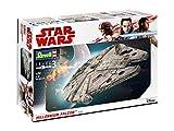 Revell 06718 Star Wars Han Solo Modellbausatz Millennium Falcon, Mehrfarbig, 1:72 Scale
