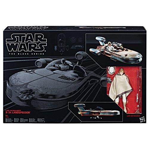 Hasbro Star Wars C1426EU4 'The Black Series 6' Luke Skywalker & Landspeeder' Spielset