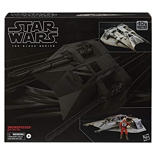 Star Wars The Black Series Snowspeeder Fahrzeug mit Dak Ralter Figur 15 cm große Imperium schlägt zurück Figuren zum Sammeln