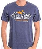 Star Wars Herren T-Shirt, Blue Melange, XL
