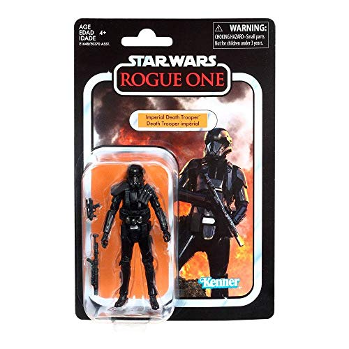 Star Wars–Black Series–Figur Vintage Imperial Death Trooper, e1648es0, Mehrfarbig