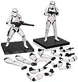 "Kotobukiya Figur, Maßstab 1:10,""Stormtrooper"" Artfx Plus, 2Stück, Weiß"