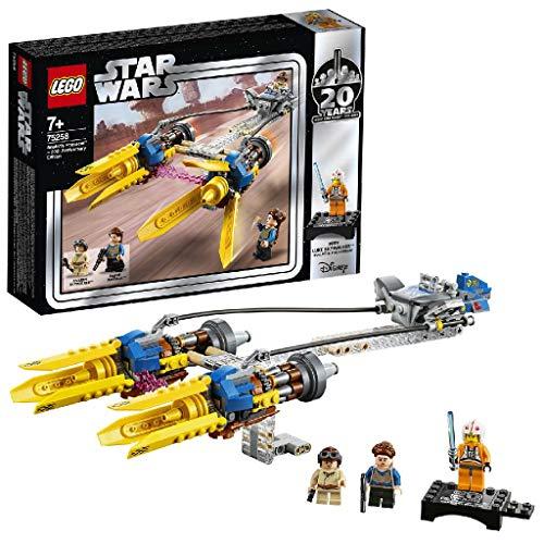 LEGOStarWars 75258 Die dunkle Bedrohung Anakin's Podracer– 20Jahre LEGOStarWars, Bauset