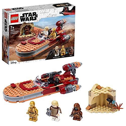 LEGO75271StarWarsLukeSkywalkersLandspeederBausetmitJavaMinifigur,SerieEineNeueHoffnugSerie