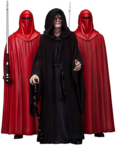 ARTFX + Emperor Palpatine with Royal Guard 3 Pack 'Star Wars' 1/10 PVC Painted Easy Assembly Kit