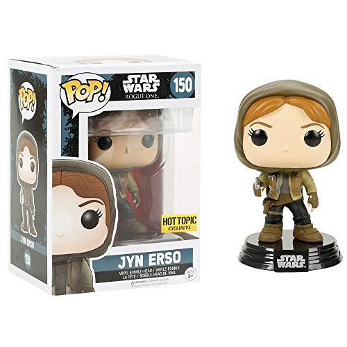 Funko 10450 POP Bobble: Star Wars: Rogue One: Jyn Erso Hooded (Exc)