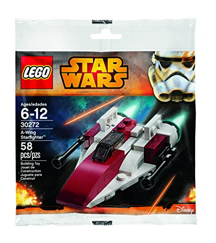 LEGO Star Wars A-Wing Starfighter Polybag (30272) by