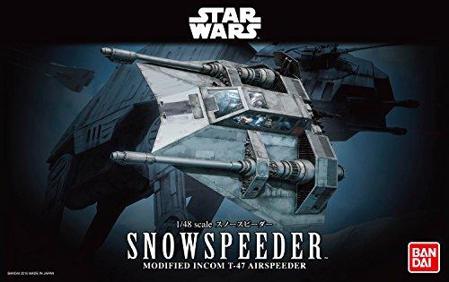 Revell Bandai 1203 Disney Star Wars Snowspeeder Luke Skywalker Zubehör, Mehrfarbig, 1/48