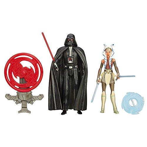 Star Wars Rebels 3.75-inch Space Mission Darth Vader und Ahsoka Tano Figur (2Stück)