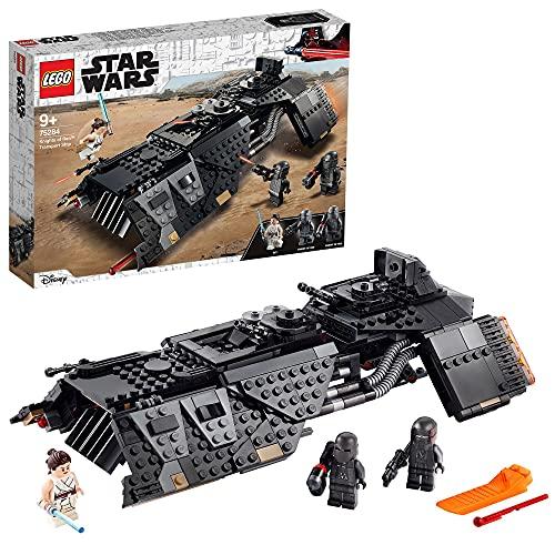 LEGO 75284 Star Wars Transportraumschiff der Ritter von Ren, Bauset mit Rey Minifigur