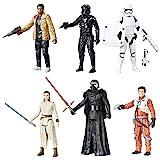 Star Wars Figuren Set 6er Pack Saga Battle Pack Hasbro CO496EU5 Episode 7 Charaktere to