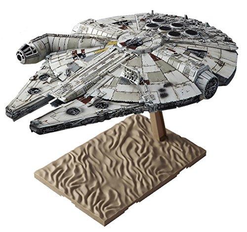Bandai Star Wars VII: The Force Awakens Millennium Falcon 1/144 Scale Plastic Modell-Bausatz