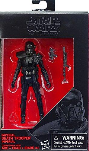 Star Wars Hasbro – C0663 The Black Series – Imperial Death Trooper – 10cm Action Figur, Sehr detailliert und mit beweglichen Gelenken