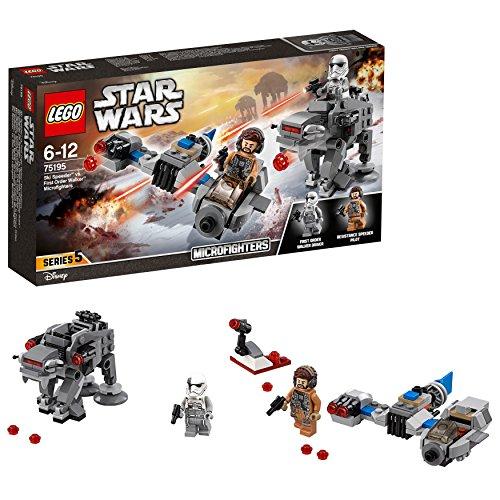 LEGO Star Wars Ski Speeder vs. First Order Walker Microfighters 75195 Star Wars Spielzeug