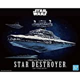 Star Wars Star Destroyer, Bandai Star Wars Vehicle Plastic 1/5000 Model