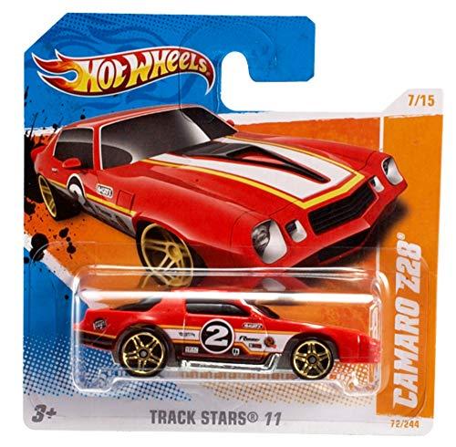 Hot Wheels 5785 - zufällige Autos/Fahrzeugmodelle, je 1 Fahrzeug, 1er Pack, (Modell sortiert)