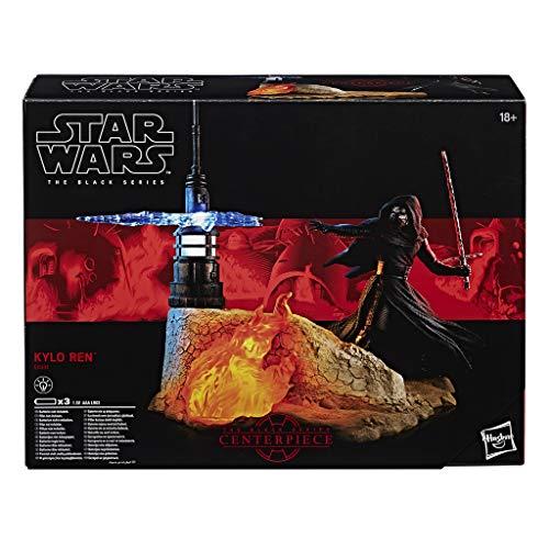 Hasbro Star Wars The Black Series - Episode 8 Kylo-Ren Diorama Set, 6 Zoll Spielfigur mit Deko-Szene