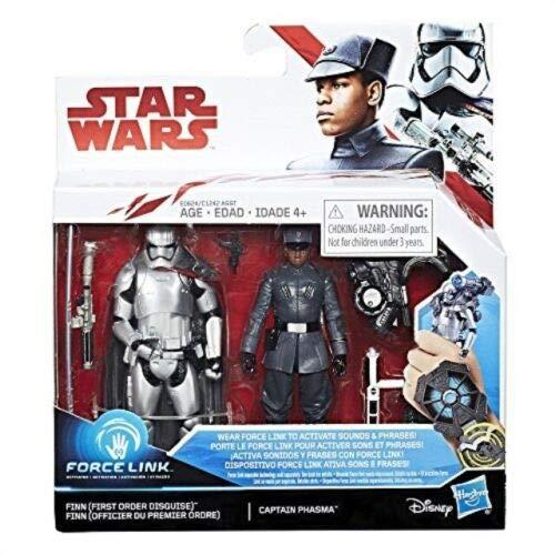 Star Wars Hasbro – e0624 Force Link – Finn & Captain Phasma (Englische Edition)