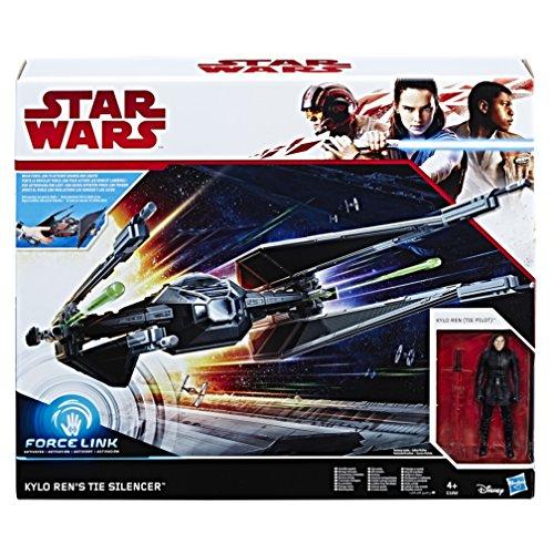 "Hasbro Star Wars C1252EU4 'Episode 8 Forcelink Tie Silencer mit 3.75"" Kylo Ren Figur' Actionfigur"