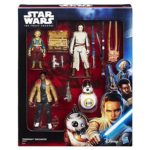 Hasbro Star Wars B6815EU0 - E7 Best-of 3.75 Zoll Figuren 4er Set, Actionfiguren