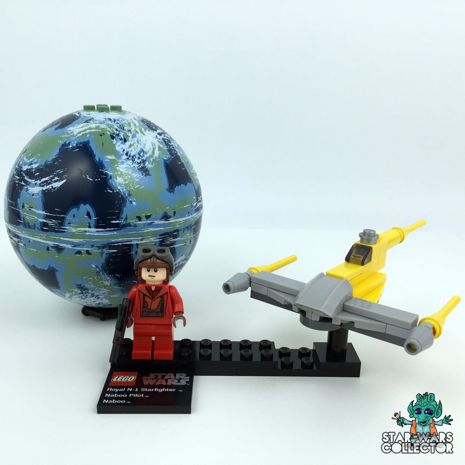 LEGO Star Wars 9674 Naboo Starfighter & Naboo