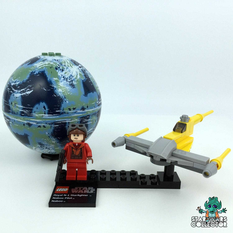 LEGO Star Wars 9674 Naboo Starfighter & Naboo
