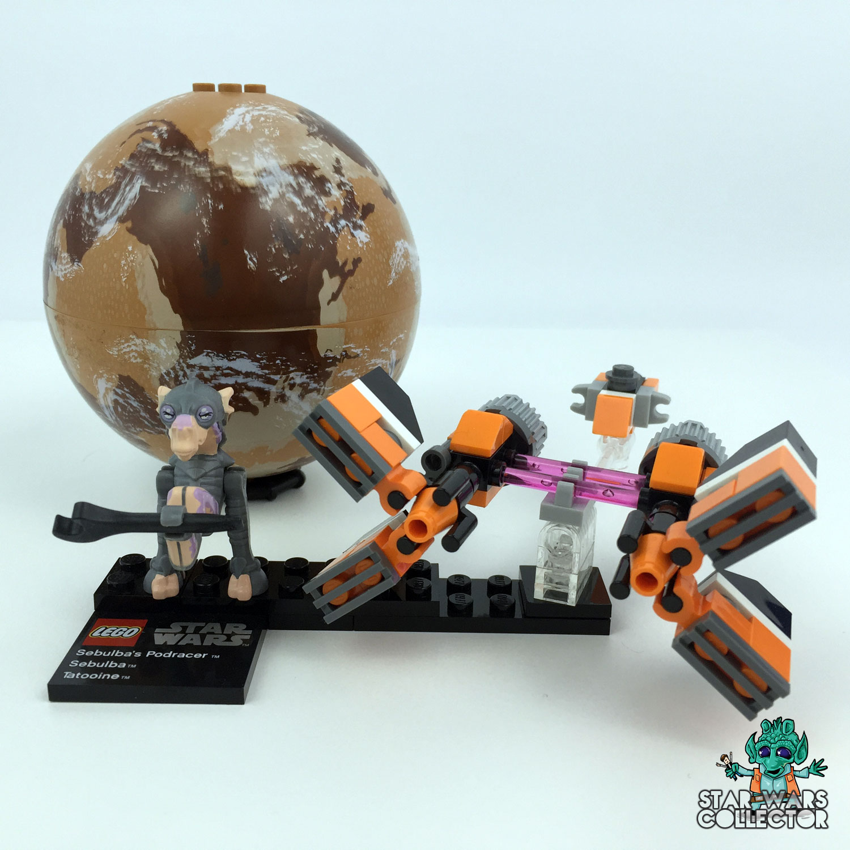 LEGO Star Wars 9675 Sebulba's Podracer & Tatooine