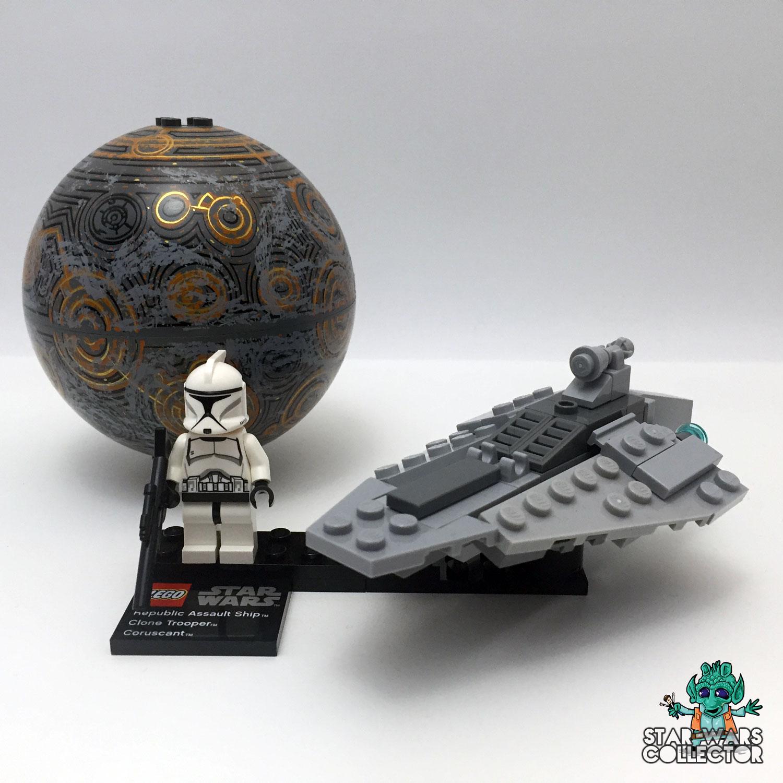 LEGO Star Wars 75007 Republic Assault Striker & Coruscant