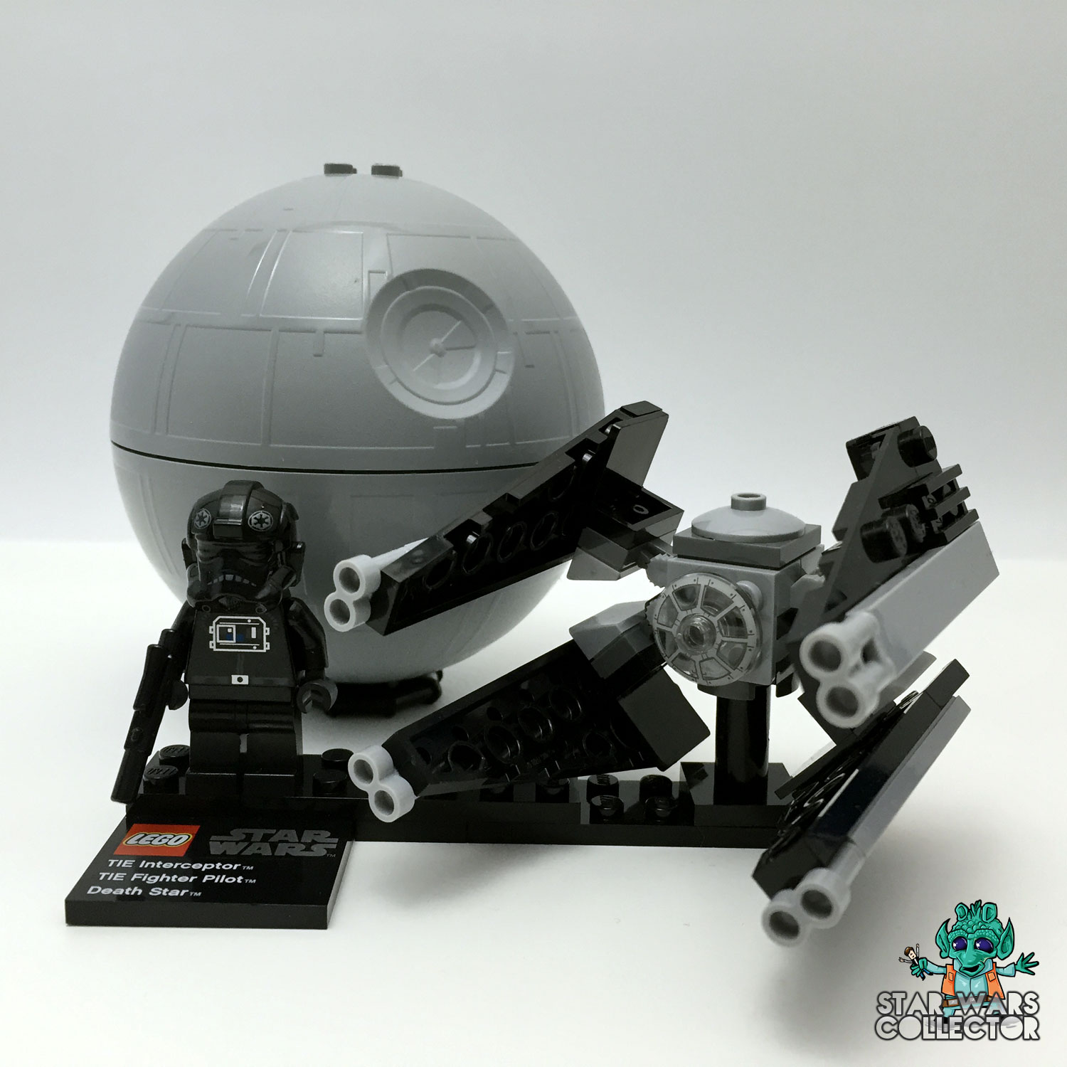 LEGO Star Wars 9676 TIE Interceptor & Death Star