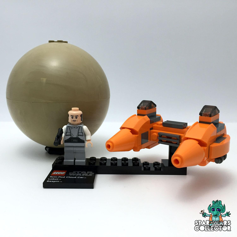 LEGO Star Wars 9678 Twin-Pod Cloud Car & Bespin