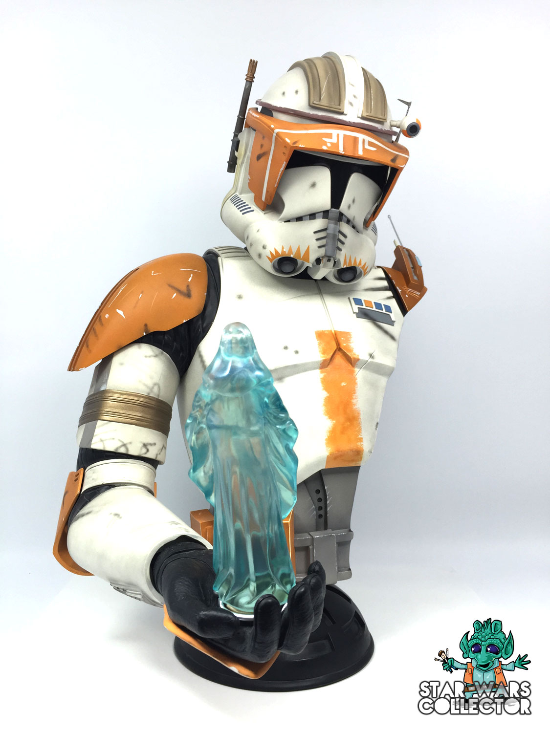 Sideshow Commander Cody Legendary Scale Büste