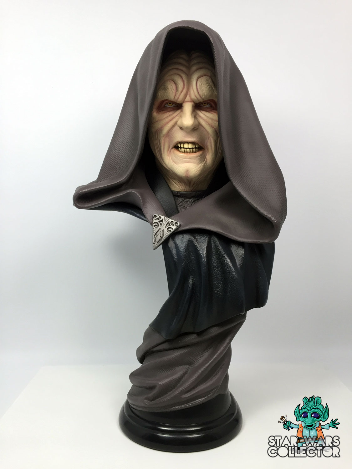 Sideshow Darth Sidious Legendary Scale Büste
