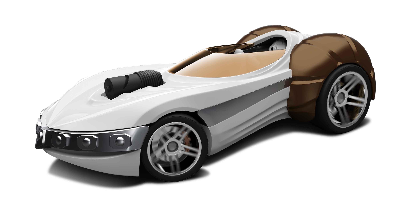 Hot Wheels Princess Leia Character Car