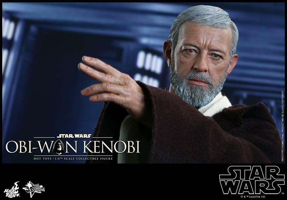 #shortcut: Hot Toys Han Solo, Chewbacca & Obi-Wan Kenobi als Neuauflage im Juli 2016!